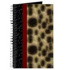 Faux Leopard and Leather Journal