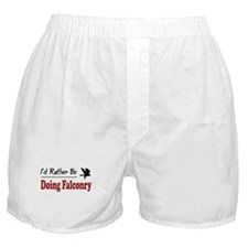 Rather Be Doing Falconry Boxer Shorts