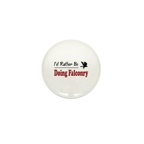 Rather Be Doing Falconry Mini Button (100 pack)