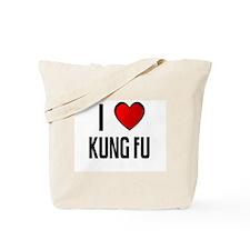 I LOVE KUNG FU Tote Bag