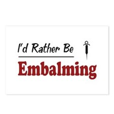 Rather Be Embalming Postcards (Package of 8)