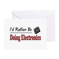 Rather Be Doing Electronics Greeting Card