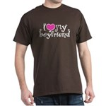 I Love My Boyfriend Dark T-Shirt