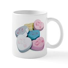 Vespa Scooter Candy Hearts Mug
