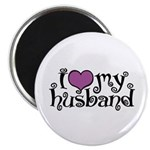 I Love My Husband Magnet