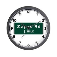 Zzyzx, CA (USA) Wall Clock