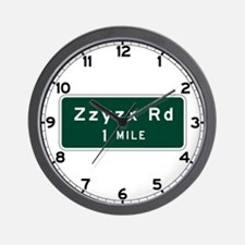 Zzyzx, CA (USA) Wall Clock