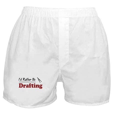 Rather Be Drafting Boxer Shorts