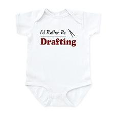 Rather Be Drafting Infant Bodysuit