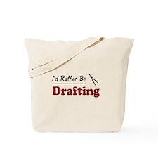 Rather Be Drafting Tote Bag