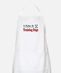 Rather Be Training Dogs BBQ Apron