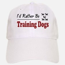 Rather Be Training Dogs Cap