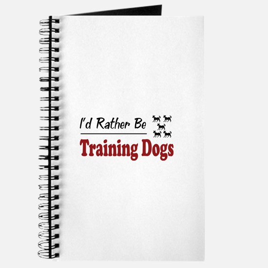 Rather Be Training Dogs Journal