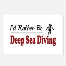 Rather Be Deep Sea Diving Postcards (Package of 8)