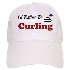 Rather Be Curling Baseball Cap