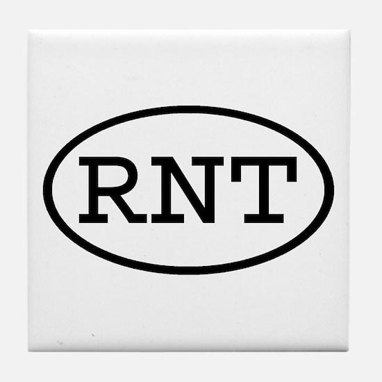 RNT Oval Tile Coaster