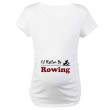 Rather Be Rowing Shirt
