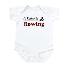Rather Be Rowing Onesie