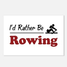 Rather Be Rowing Postcards (Package of 8)
