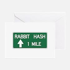 Rabbit Hash, CA (US) Greeting Cards (Pk of 10)
