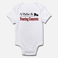 Rather Be Pouring Concrete Infant Bodysuit