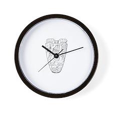 Egyptian Urn Wall Clock