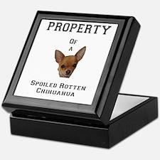 Cute Chihuahua Keepsake Box