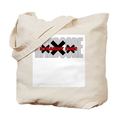 Hardcore Straight Edge Tote Bag