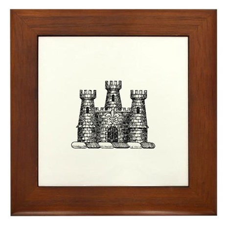 Castle Framed Tile