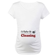 Rather Be Cleaning Shirt