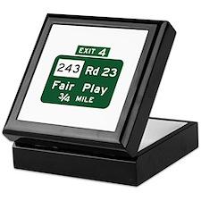 Fair Play, SC (USA) Keepsake Box