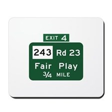 Fair Play, SC (USA) Mousepad