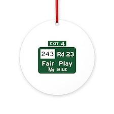 Fair Play, SC (USA) Ornament (Round)