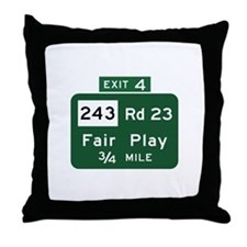 Fair Play, SC (USA) Throw Pillow