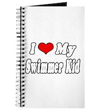 """I Love My Swimmer Kid"" Journal"