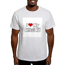 """""""I Love My Softball Kid"""" T-Shirt"""