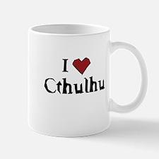 I heart Cthulhu Mug