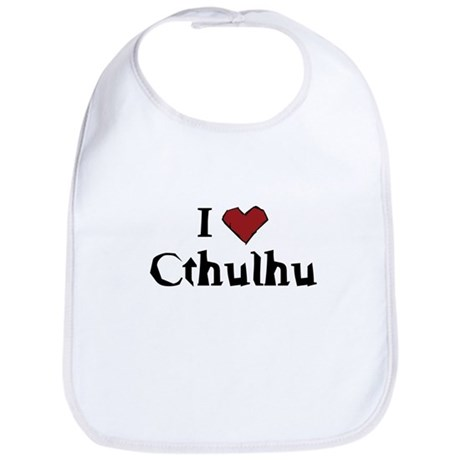 I heart Cthulhu Bib