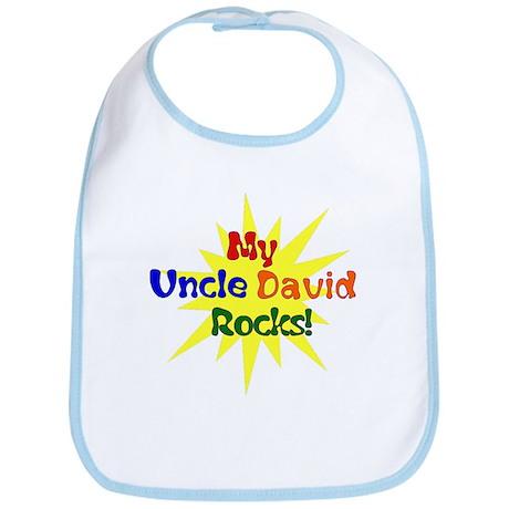 MY UNCLE DAVID ROCKS Bib
