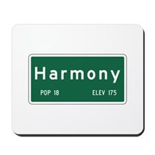 Harmony, CA (USA) Mousepad