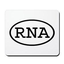 RNA Oval Mousepad