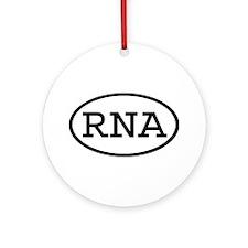 RNA Oval Ornament (Round)