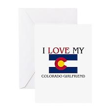 I Love My Colorado Girlfriend Greeting Card