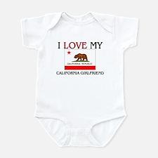 I Love My California Girlfriend Infant Bodysuit