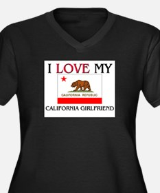 I Love My California Girlfriend Women's Plus Size