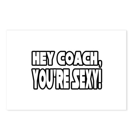 """Hey Coach, You're Sexy!"" Postcards (Package of 8)"