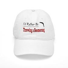 Rather Be Throwing a Boomerang Baseball Cap