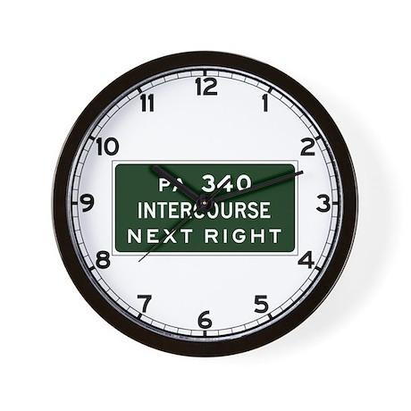 Intercourse, PA Wall Clock