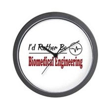Rather Be Biomedical Engineering Wall Clock