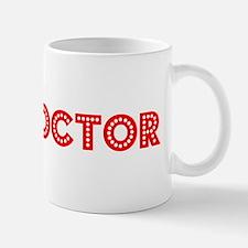 Retro Spin doctor (Red) Mug
